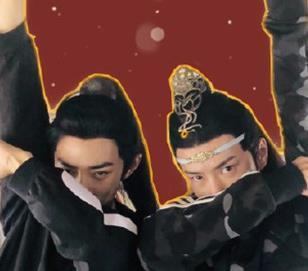 王一博肖战新年壁纸