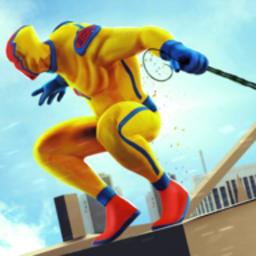 超级绳索城市英雄