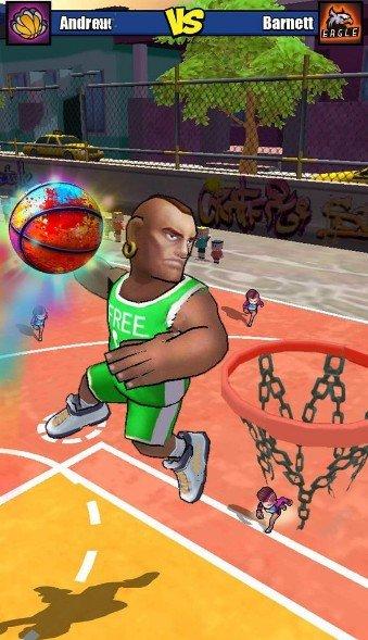 撞击篮球破解版图2