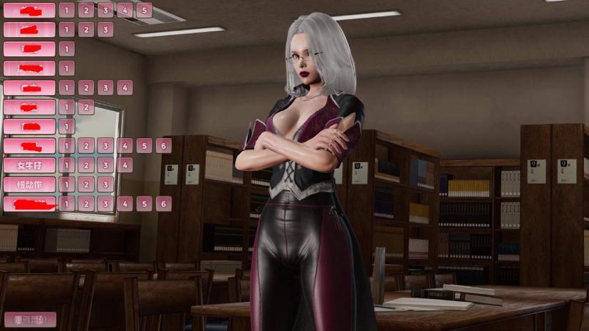 图书女管理员图2