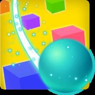 滑动彩色球3D