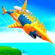 机械人沙鱼攻击