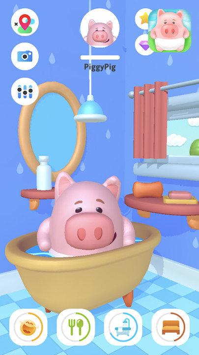 新生宝宝照顾小猪图2