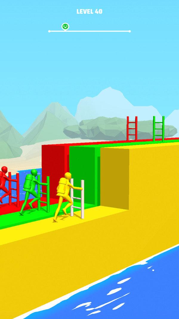 梯子跑酷图2