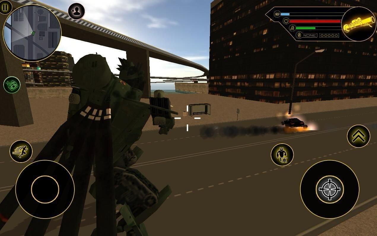 武装直升机机器人图2