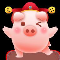 福氣滿滿豬
