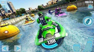 水上摩托艇竞赛3D图1