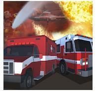 紧急走廊警察救护车消防模拟器