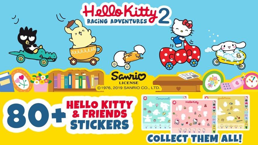 Hello Kitty Racing Adventures 2图2