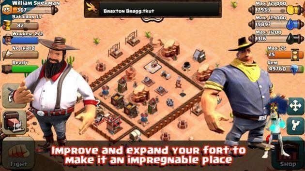 狂野的西部游戏图3