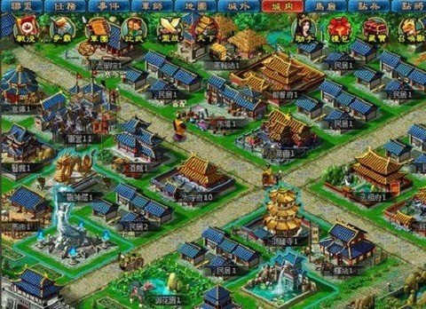 神魔三国志无限元宝版图2