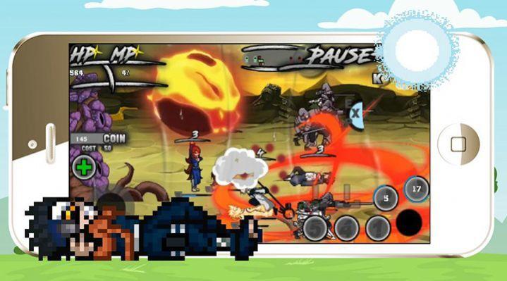 火影忍者黑暗战争崛起破解版图2