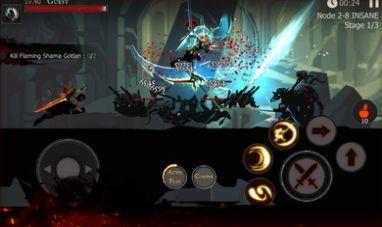死亡之影黑暗骑士火柴人战斗图3
