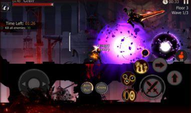 死亡之影黑暗骑士火柴人战斗图1