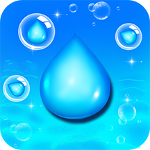 水滴泡泡爆破
