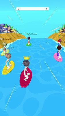 水上冲浪竞赛图1