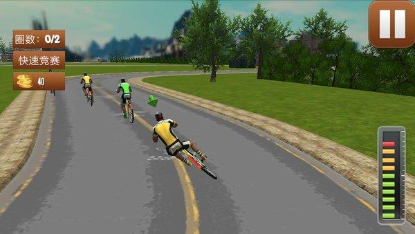 3d模擬自行車越野圖1